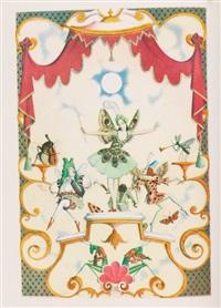 a fairy garland by edmund dulac