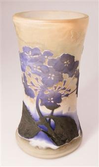 vase hortensie by émile gallé