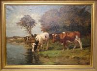 koeien aan de waterkant rechtsonder get by fedor van kregten