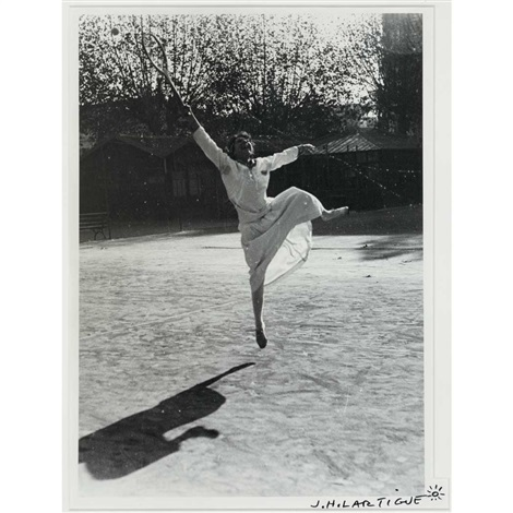 suzanne lenglen training nice by jacques henri lartigue