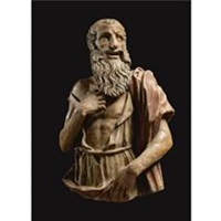 figure of saint jerome by giovanni de fondulis