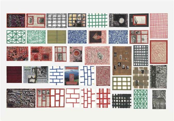 plein 40 parts by thomas hirschhorn