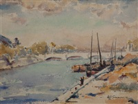 afternoon on the seine by william simmons
