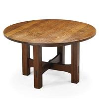 Gustav Stickley. Game Table ...