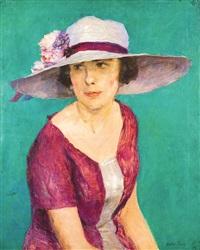 dame au chapeau by walter vaes