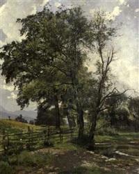 landscape by louis (jakob ludwig w.) boller