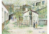 first errand by maurice utrillo