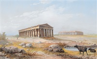 die tempel von paestum by y. gianni