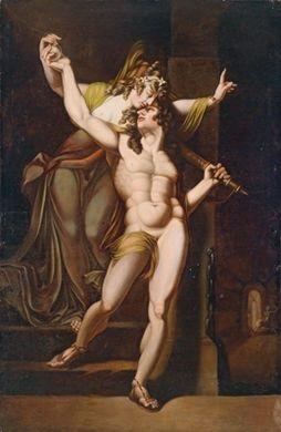 theseus erhält von ariadne den faden by henry fuseli