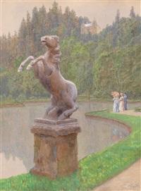 im park von hellbrunn ii by stefan simony