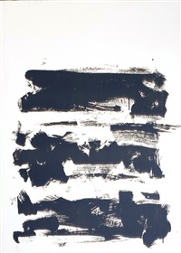composition jaune by joan mitchell