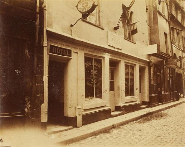 maison de flamel by eugène atget