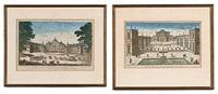 le chateau de s'ildephonse (+ vue de la maison de preinse d'orange; pair) by jacques chereau