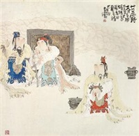 甘露寺 (figure) by deng jiade
