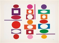 double metamorphosis #5 by yaacov agam