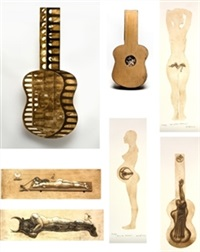 guitarra abierta (17 works) by jose yagues