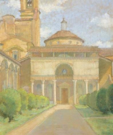 la chapelle des pazzi florence la chapelle en toscane 2 works by amélie sauger