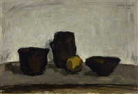 still-life with pots by mikko laasio