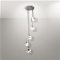 lampada da sospensione modello/5 by gino sarfatti