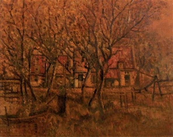 a farmyard by henri van daalhoff