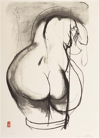 toward sculpture 3 by brett whiteley