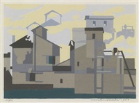 architectural cadence by charles sheeler