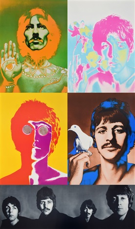 5 Richard Avedon The Beatles Posters 1st Edition By
