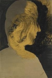 woman's head by eileen agar
