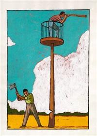 vigie (for journal libération) by jean-claude gotting