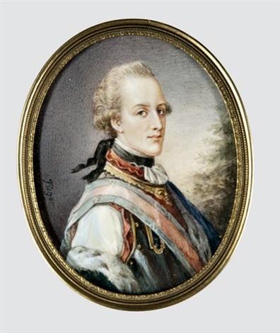 albert von sachsen tasschen herceg portréja by friedrich heinrich füger