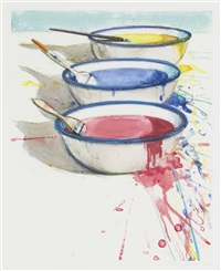 paint pots by wayne thiebaud