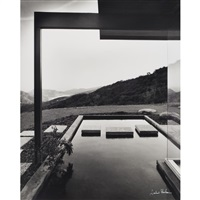 singleton residence, designed by richard neutra, los angeles, california by julius shulman