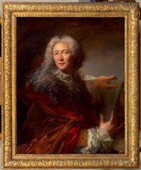 portrait d'un géographe by jacques-françois courtin