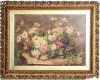 floral still life by françois rivoire