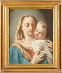 madonna con bambino by jacopo amigoni