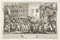 industry and idleness (12 works) by william hogarth