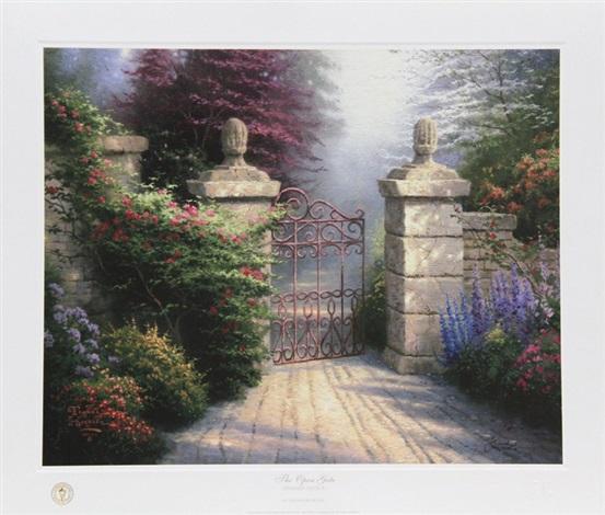 the open gate by thomas kinkade