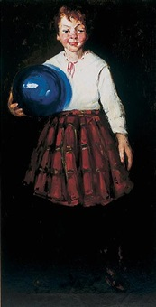The blue ball