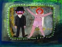 paar (selbstportrait) by janosch