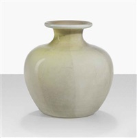 lattimo argentato in corpo vase by tomaso buzzi
