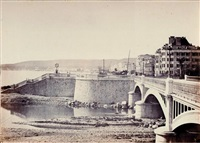 nice, pont napoléon iii by charles nègre