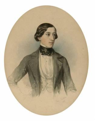 porträt eines jungen herren by johann nepomuk ender