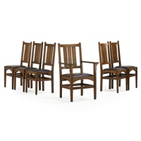 dining chairs (set of 6) by harvey ellis