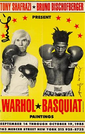 Poster for WarholBasquiat Paintings by Jean-Michel Basquiat and Andy ...