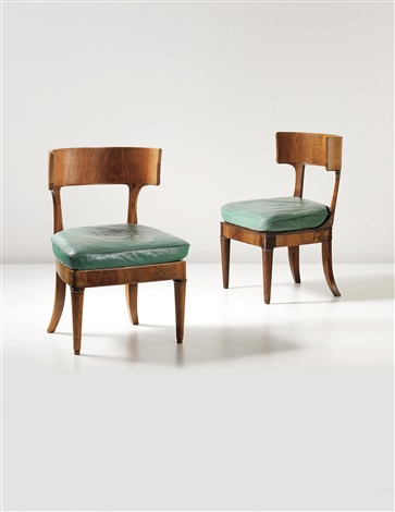 chairs designed for dr keysselitz marburg pair by walter gropius