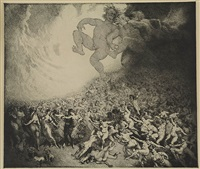 allegro vivace 8th symphony by norman alfred williams lindsay