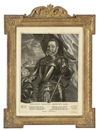franciscus valdesius (+ 3 others; 4 works) by cornelis visscher
