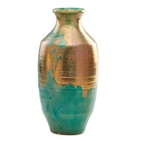 tall baluster vase by pewabic pottery