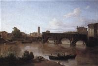 ponte rotto, rome by john (newbott) newbolt