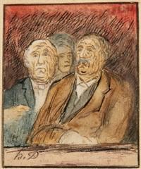 les avocats by honoré daumier